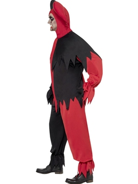 Adult Dark Jester Costume - Back View