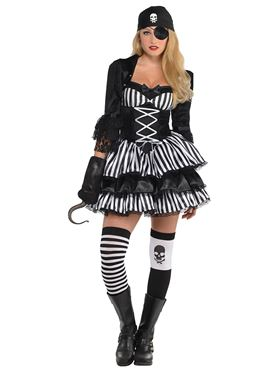 Dark Sea Maiden Pirate Costume