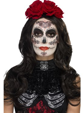 Day of the Dead Glamour Make Up Kit  sc 1 st  Fancy Dress Ball : glamorous halloween costume  - Germanpascual.Com