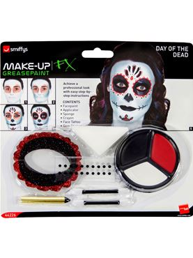 Day of the Dead Make Up Kit - Side View