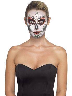 Day of the Dead Make Up Kit - Back View