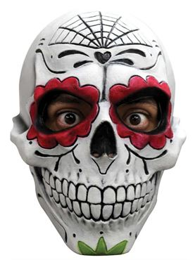 Day of the Dead Overhead Mask