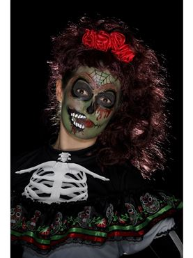 Day of the Dead Zombie Make Up Kit - Side View