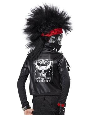 Child Dead Man Rockin' Costume - Back View