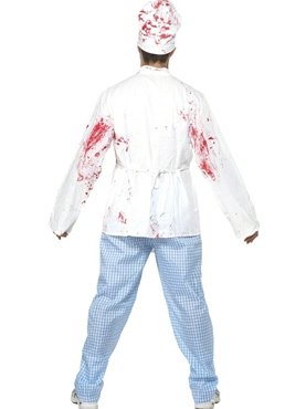 Adult Deadly Chef Costume - Side View