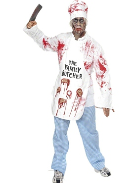 Adult Deadly Chef Costume