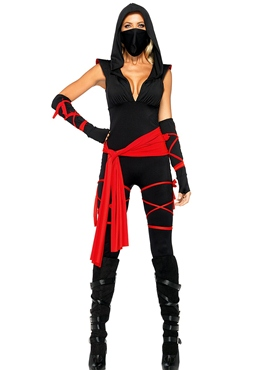 Adult Deadly Ninja Costume