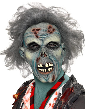 Adult Decaying Zombie Mask