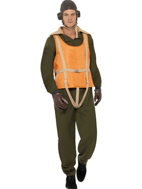Adult Deluxe 40's Aviator Costume