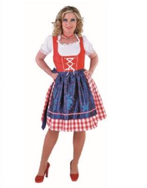 Adult Deluxe Bavarian Girl Costume