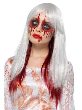 Deluxe Blood Drip Ombre Heat Resistant Wig