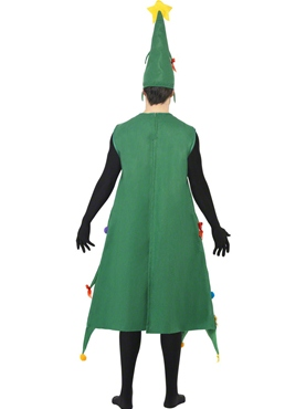 Adult Deluxe Christmas Tree Costume - Side View