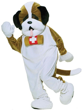 Adult Deluxe Puppy Dog Mascot Costume