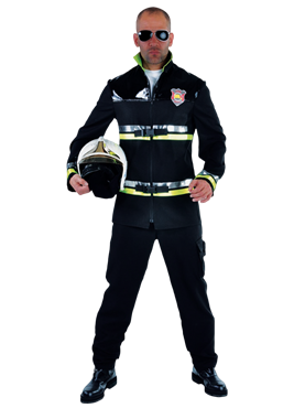 Adult Deluxe Firefighter Costume Couples Costume
