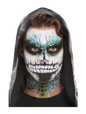 Deluxe GID Skeleton Make-Up Kit