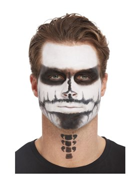 Deluxe GID Skeleton Make-Up Kit - Side View