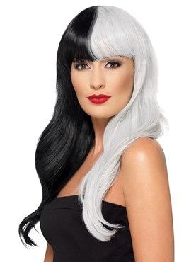 Deluxe Half & Half Heat Resistant Wig