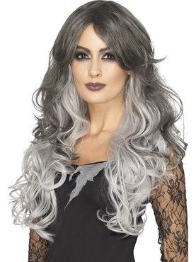 Deluxe Heat Resistant Gothic Bride Wig