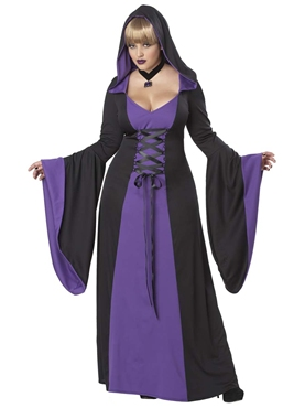 Adult Plus Size Deluxe Hooded Robe