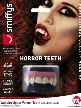 Deluxe Individual Vampire Horror Teeth
