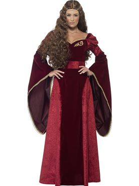Adult Deluxe Medieval Queen Costume Thumbnail