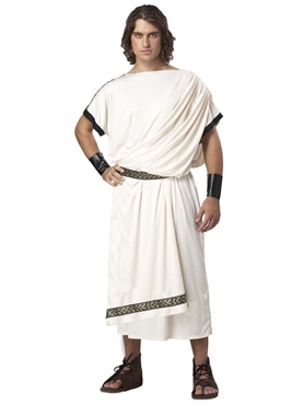 Adult Deluxe Mens Classic Toga Costume