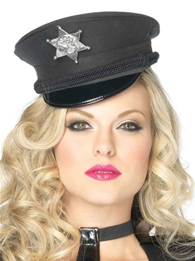 Deluxe Mini Police Hat