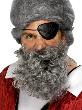 Deluxe Pirate Beard Couples Costume