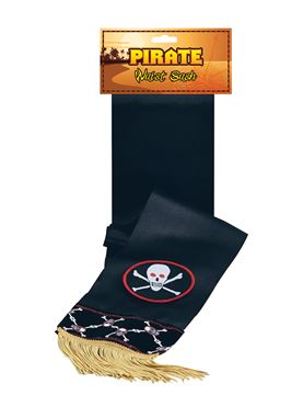 Deluxe Pirate Waist Sash