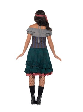 Deluxe Pirate Wench Costume - Side View