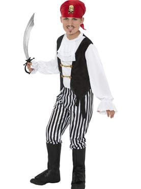 Child Deluxe Pirate Costume
