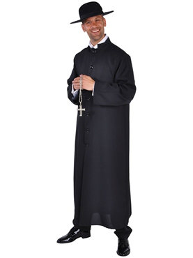 Adult Deluxe Priest Costume