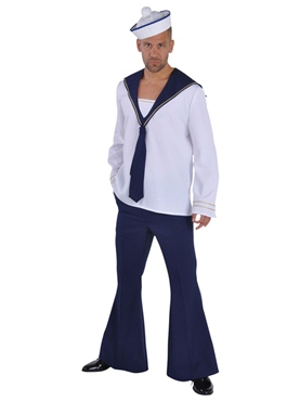 Adult Deluxe Sailor Costume Thumbnail