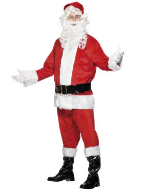 Adult Deluxe Santa Costume Couples Costume