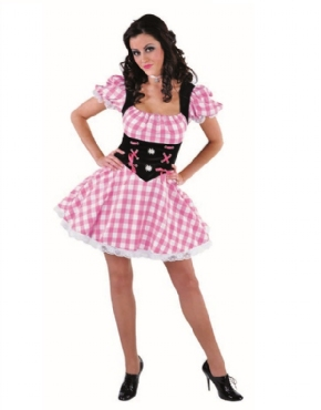 Adult Deluxe Sexy Bavarian Girl Costume