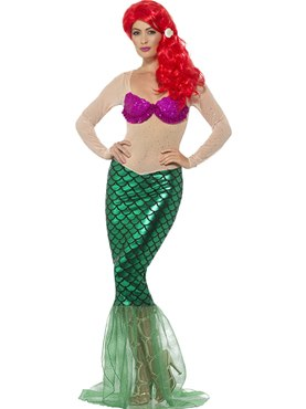 Deluxe Sexy Mermaid Costume
