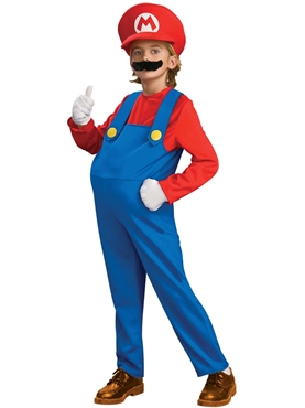 Child Deluxe Super Mario Costume