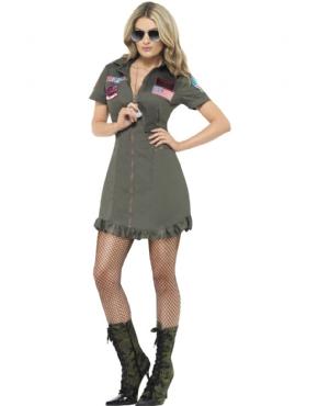 Adult Deluxe Top Gun Female Costume