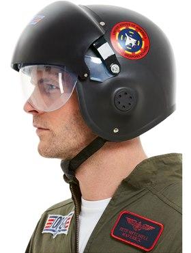 Deluxe Top Gun Helmet - Side View