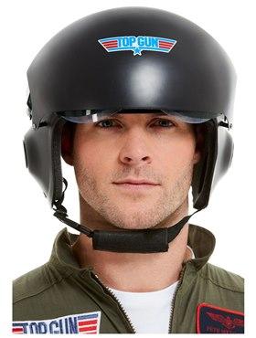 Deluxe Top Gun Helmet - Back View