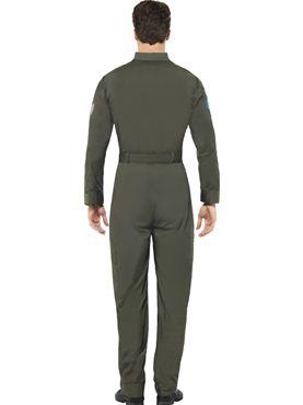 Deluxe Top Gun Pilot Costume - Side View