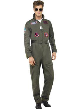 Deluxe Top Gun Pilot Costume