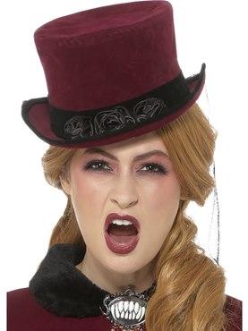 Deluxe Victorian Vampiress Hat