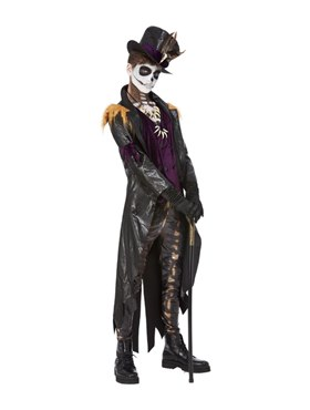 Deluxe Voodoo Witch Doctor Costume Couples Costume