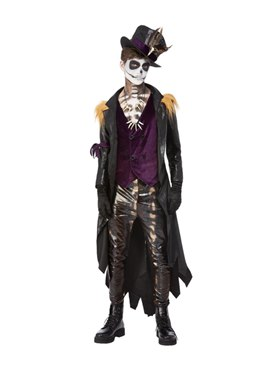 Deluxe Voodoo Witch Doctor Costume - Back View