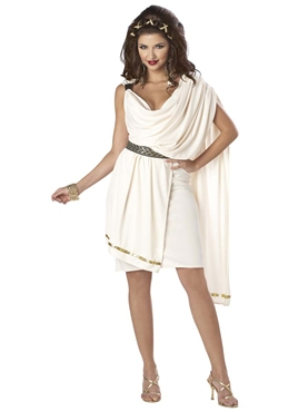 Adult Deluxe Womens Toga Costume Thumbnail
