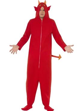 Adult Devil Onesie Costume