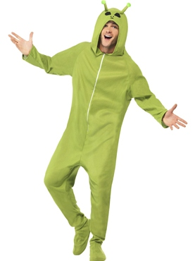 Adult Alien Onesie Costume