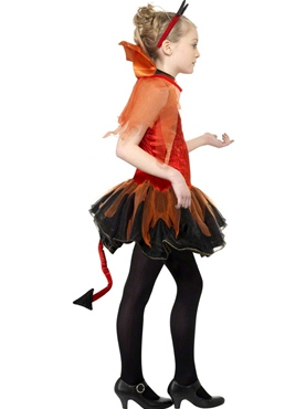 Teen Devil Costume - Side View