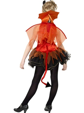 Teen Devil Costume - Back View